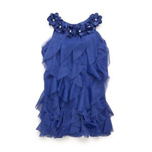 Biscotti  Vertical Ruffle Dress